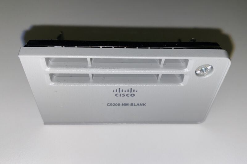 NEW Cisco C9200-NM-Blank Cover Plate 700-116042-01 CISCO NEW
