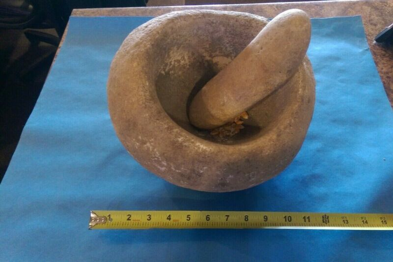 Minot-YoKut Indians California Mortar and Pestle