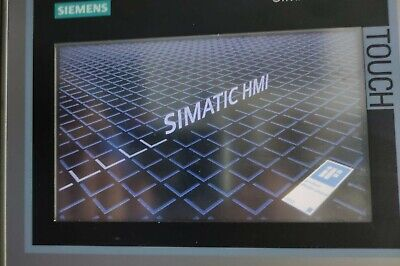 Siemens Simatic Hmi Touch Panel Tp700 Comfort 6av2 124-0gc01-0ax0 Tested See Pic