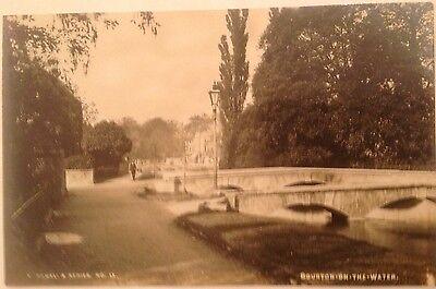 Gloucestershire , Burton on the Water. R P Postcard
