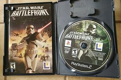 Star Wars Battlefront Playstation 2 PS2 W/ Case Manual