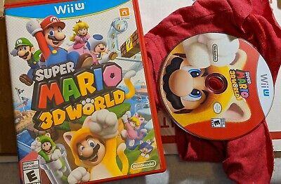 Super Mario 3D World (Wii U, 2013) Nintendo Games Same Day Ship