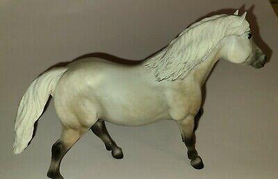 Vintage Breyer Molding Co Stallion Gray, white, black white, white tail (f)