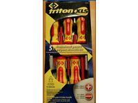 triton xls screwdriver 5 set