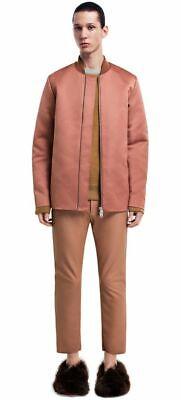 $700 Acne Studios Martyn AW14 Men Zip Up Bomber Jacket Size M