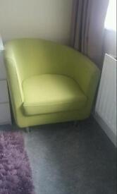 Green Tub Chair /Signature Chair
