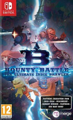 Bounty Battle: The Ultimate Indie Brawler SWITCH **PRE-ORDER ITEM** Out 26/06/20