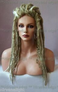 Narnia Blonde with Highlights Long Dreads/Dreds Goth/Punk Wig