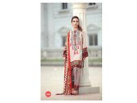 Latest Unstitched cotton salwar kameez indian pakistani suit