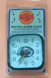 PENN STATE NITTANY LIONS NCAA MINI TRAVEL ALARM CLOCK OFFICIALLY LICENSED NIP