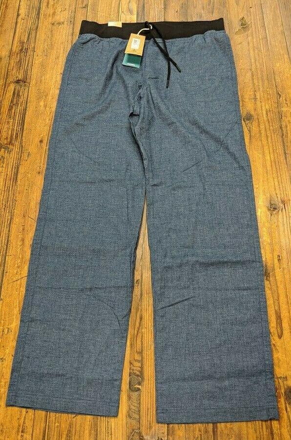 "Prana Men's Vaha Pants 32"" Inseam, Equinox Blue"