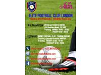 Football Coaches needed in Edgware & Walthamstow