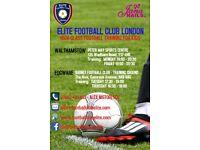 Kids Football Training in Edgware & Walthamstow