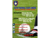 HIGH-CLASS FOOTBALL TRAINING FOR KIDS IN EDGWARE & WALTHAMSTOW