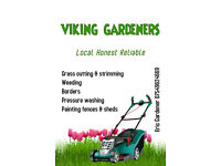 Viking Gardeners Local Honest Reliable