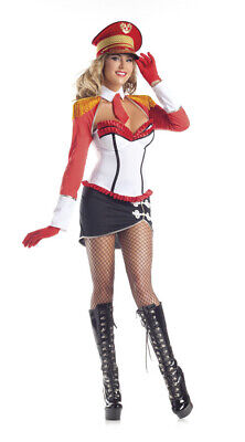 Sexy Be Wicked Marching Band Camp Cutie Majorette 4pc Halloween Costume