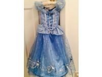 Disney Cinderella Dress Age 5-6