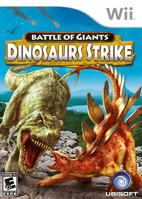 Ubisoft Battle Of Giants Dinosaur Strike Wii Nintendo Wii