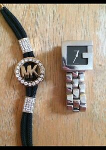 Gucci watch & Micheal Kors bracelet