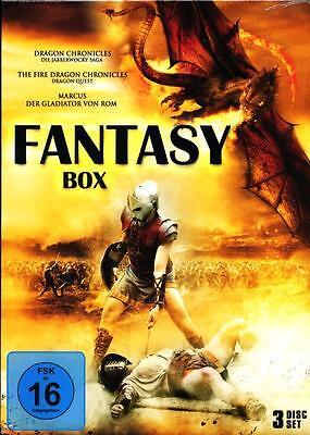 Fantasy Box 3 DVD NEU Dragon Quest, Jabberwocky Saga, Gladiator von Rom 3 Filme online kaufen
