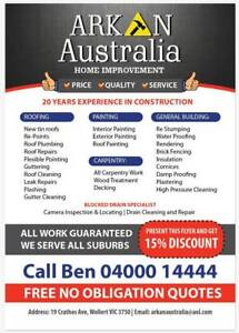 ALL Building Works/Handyman services