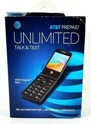 AT&T Prepaid Cingular Flip 2 Cell Phone - AT&T Prepaid Phone - Factory Sealed