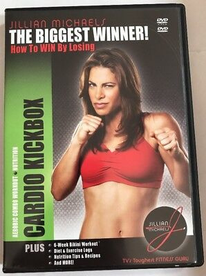 Jillian Michaels Cardio Kick Box The Biggest Winner (DVD, (Jillian Michaels The Biggest Winner Cardio Kickbox)