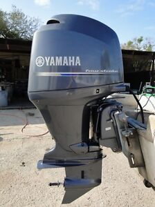 2012 yamaha 150 hp 4 stroke 20 034 outboard motor only 30