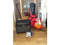 Epiphone Gibson Les Paul and Peavey Vypyr 30