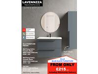 Blue Slate Bathroom Furniture from £215 + VAT