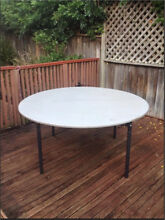 Flat fold round trestle Table Putney Ryde Area Preview