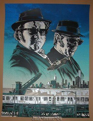 Blues Brothers Tim Doyle Elwood Joliet Jake Poster Print Signed Numbered