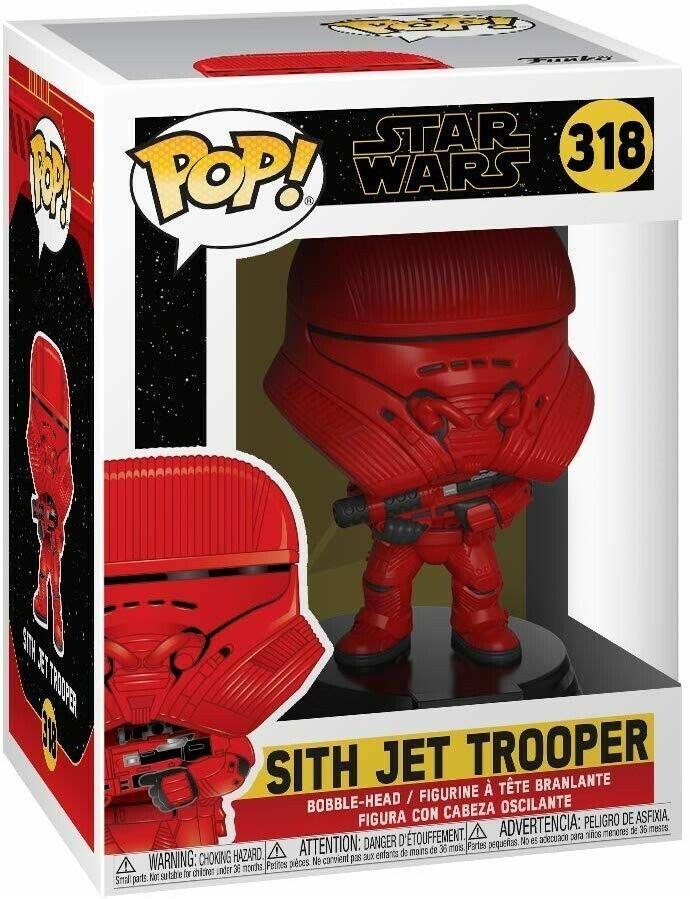 Funko Pop Star Wars Rise Of Skywalker Sith Jet Trooper Brand New In Box 889698398800 Ebay