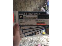 Ed Sheehan Tickets