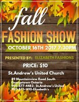 Volunteers need for fashion show