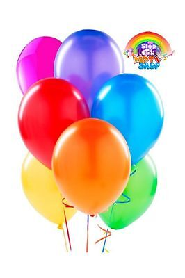28 Metallic Helium Quality Party Balloons $9.95 with Free Shipping Bargain.