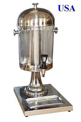Brand New Sinlge Juice Drink Dispenser Beverage Cold Drink Cooler170631