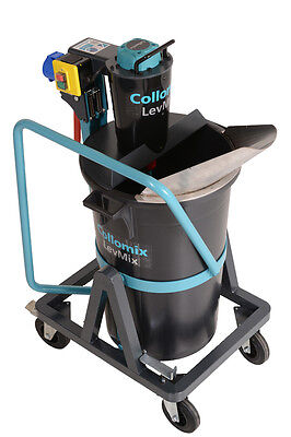 Collomix Levmix 65 Mobile Mixer Cement Mixer Concrete Mortar Stucco Mixer