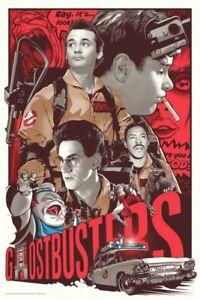 Joshua Budich - Ghostbusters - Numbered Limited Edition*