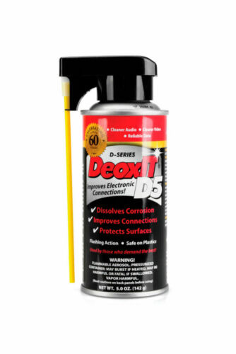 CAIG DeOxit D5S-6 Cleaning Solution Spray, 5% spray 5oz
