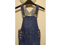 Boden girls dungarees aged 6 to 7