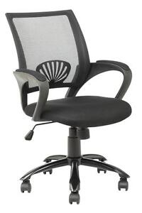 New Ergonomic Mesh Computer Office Desk Task Midback Task Chair w/Metal Base H12