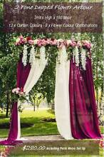 8 Amazing Wedding Flower Arbours & Arches - JUST BRIDES Rossmoyne Canning Area Preview