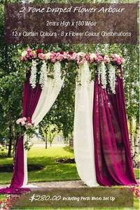 HIRE - 8 Amazing Wedding Arbours & Arches - JUST BRIDES Rossmoyne Canning Area Preview