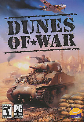 DUNES OF WAR Tank Warfare Combat Simulation PC Game NEW ()