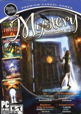 Computer Games - Mystery Adventure Pack PC Games Windows 10 8 7 XP Computer hidden object seek