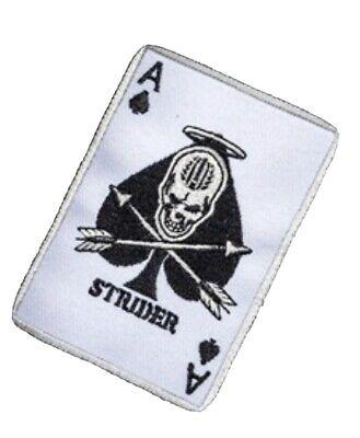Strider Knives Death Card Patch, Strider Knives, Strider Knife, Mick Strider