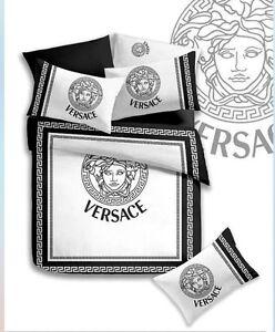 Versace Doona cover queen bed sheet set Heatherton Kingston Area Preview