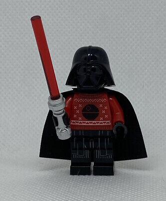 NEW LEGO Darth Vader (Red Christmas Sweater) Star Wars 75279 Minifigure Figure