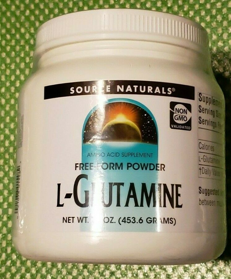 Source Naturals L-Glutamine Free-Form Powder - 16 oz - 226 S